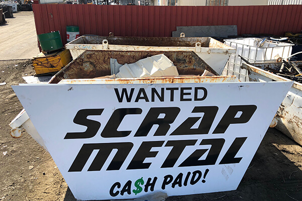 Cash for Scrap Metal